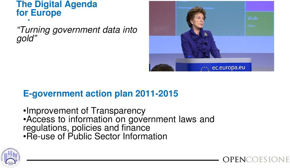 2011-2015 Improvement of Transparency Access to information