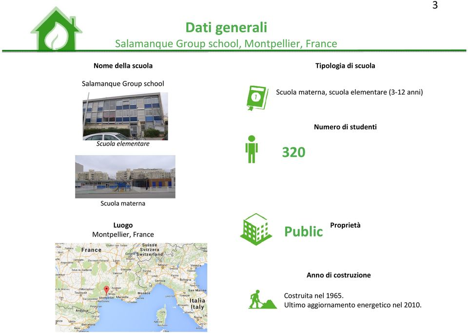 Dati generali salamanque group school montpellier france for Scuola materna francese