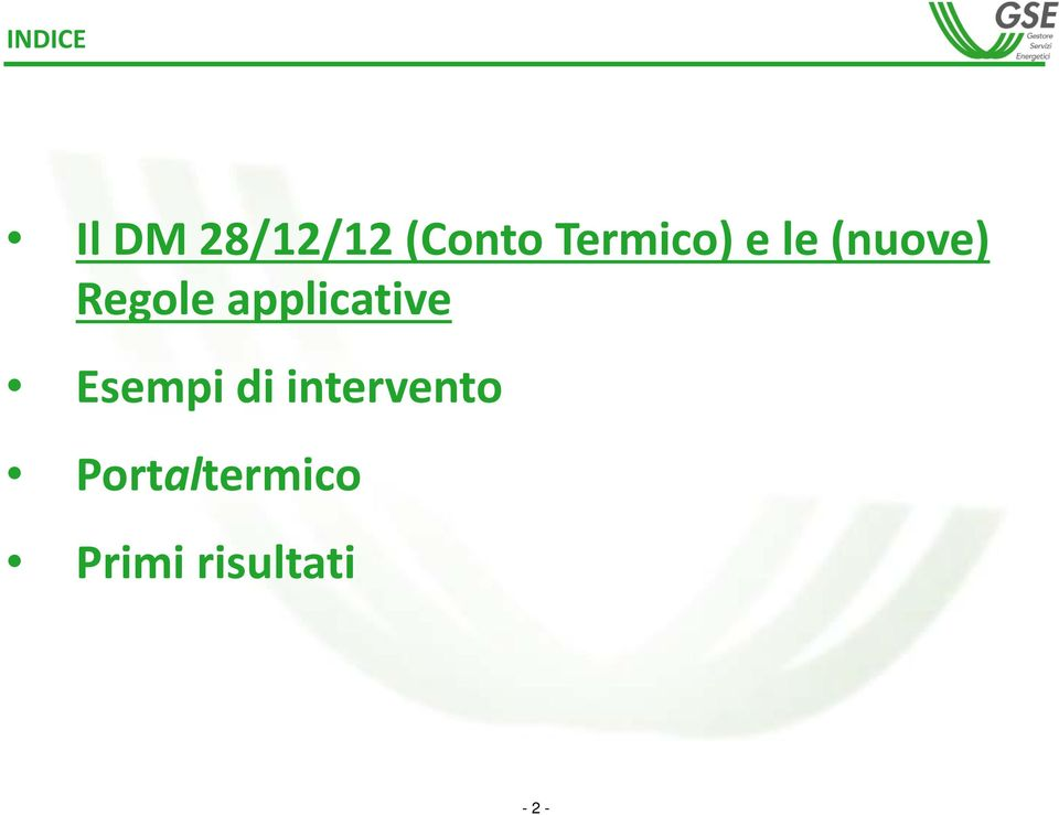 applicative Esempi di