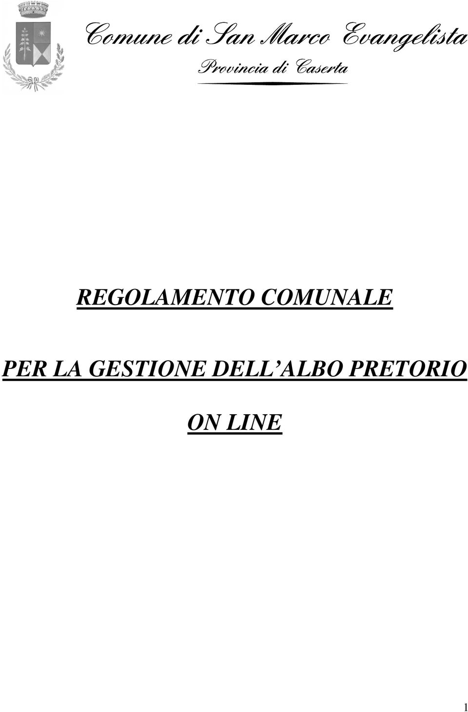 GESTIONE DELL