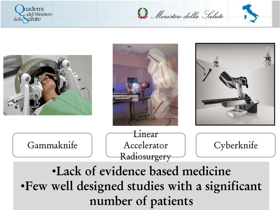 evidence based medicine Few well