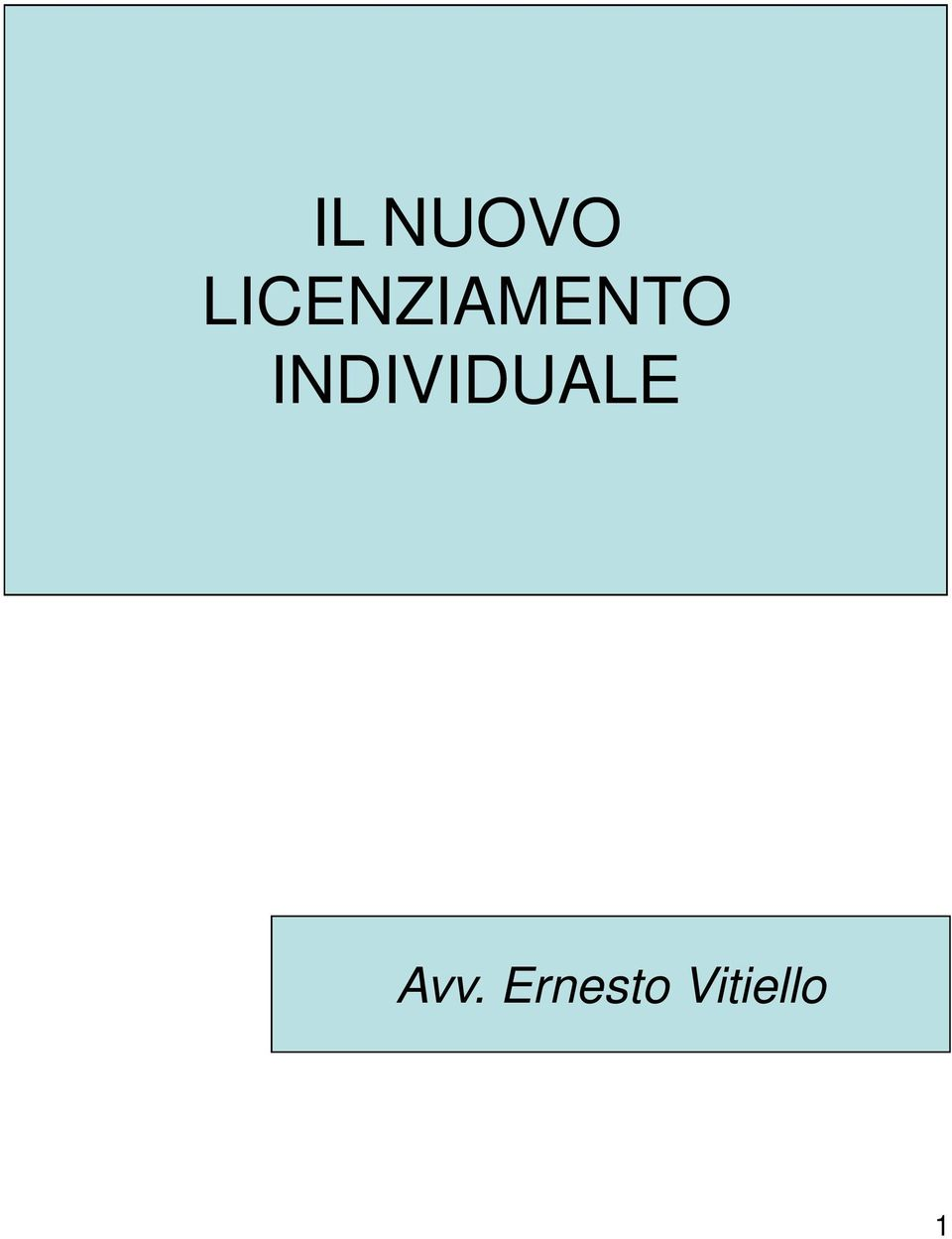 INDIVIDUALE