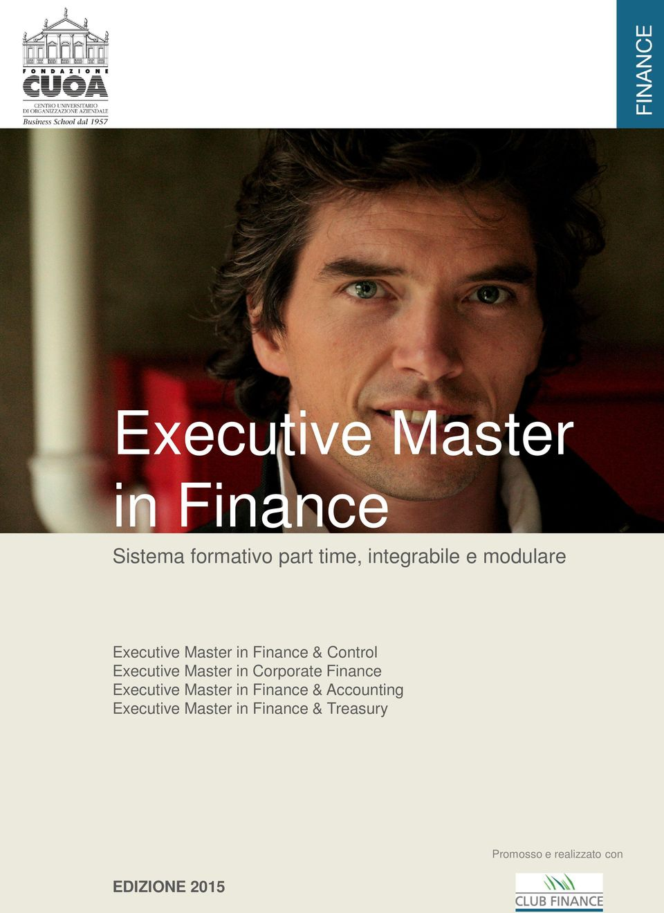 Corporate Finance Executive Master in Finance & Accounting Executive