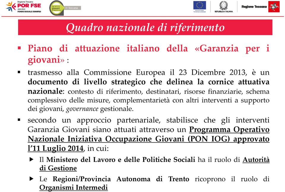 governance gestionale.