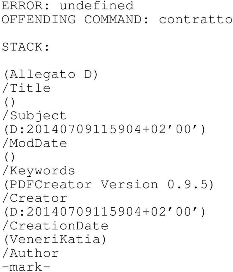 /ModDate () /Keywords (PDFCreator Version 0.9.