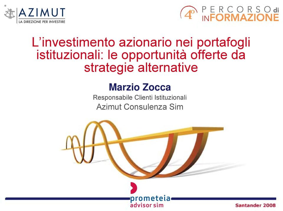 strategie alternative Marzio Zocca