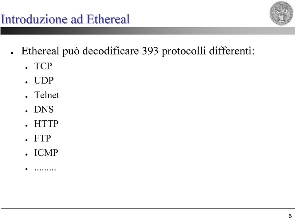 393 protocolli differenti:
