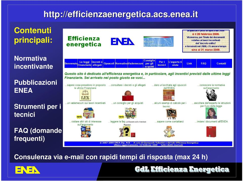 (domande frequenti) http://efficienzaenergetica.acs.