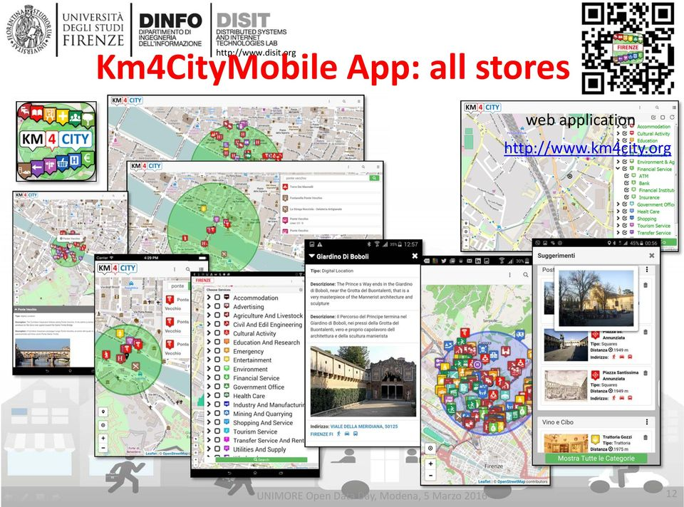application http://www.km4city.
