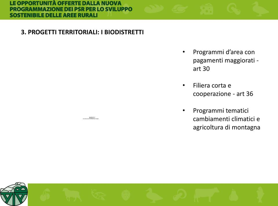 e cooperazione - art 36 decompressore Programmi