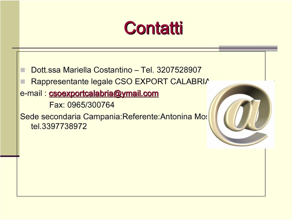 e-mail : csoexportcalabria@ymail.