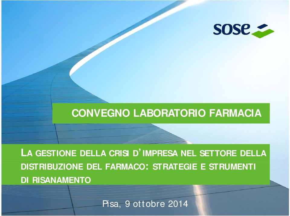 DISTRIBUZIONE DEL FARMACO: STRATEGIE E