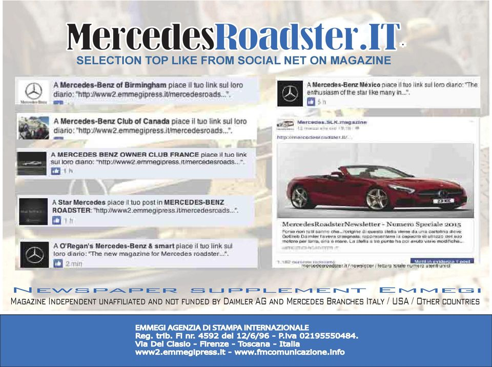 Emmegi Magazine Independent unaffiliated and not funded by Daimler AG and