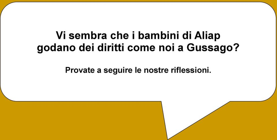 come noi a Gussago?