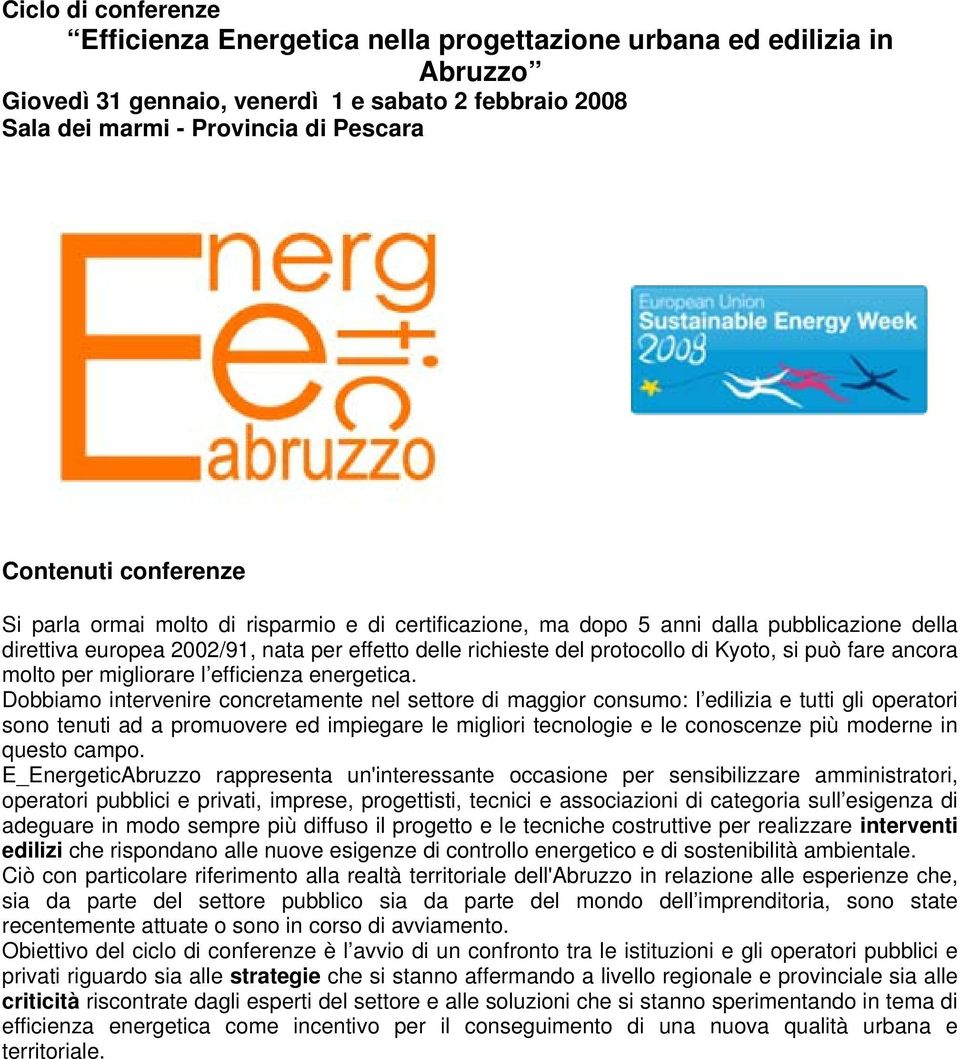 efficienza energetica.