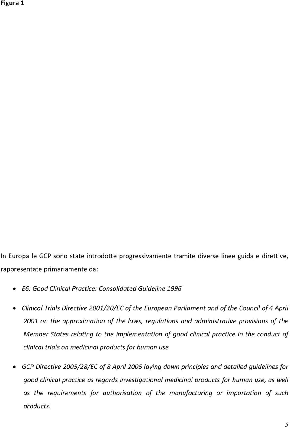 relating to the implementation of good clinical practice in the conduct of clinical trials on medicinal products for human use GCP Directive 2005/28/EC of 8 April 2005 laying down principles and