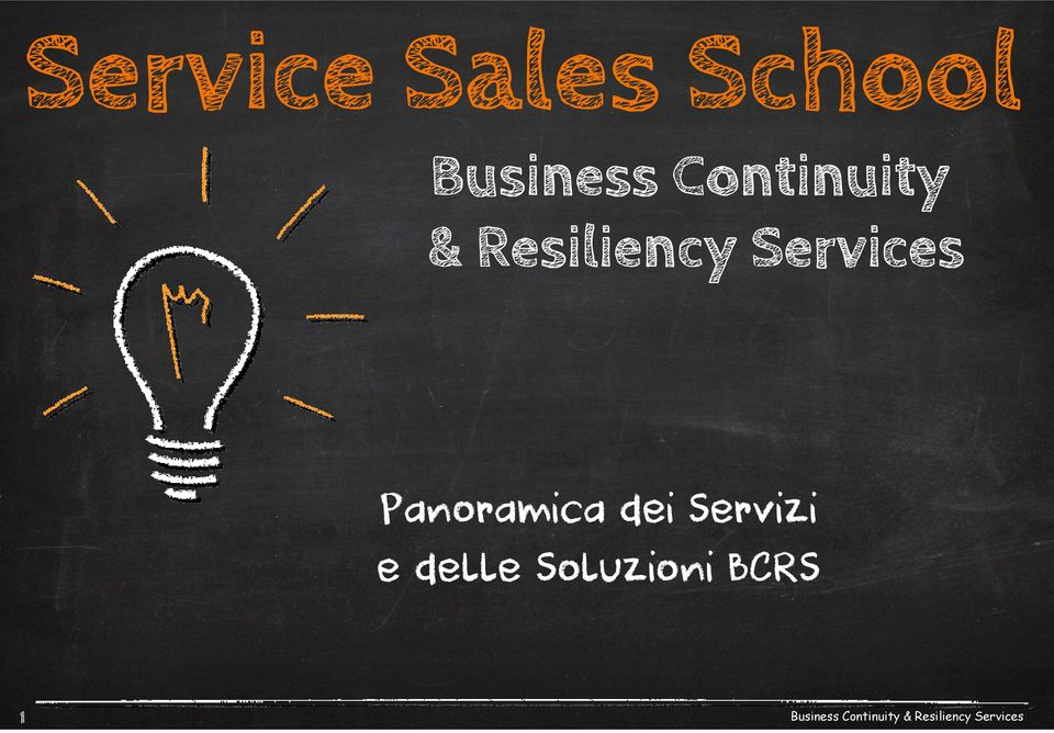 Resiliency Services