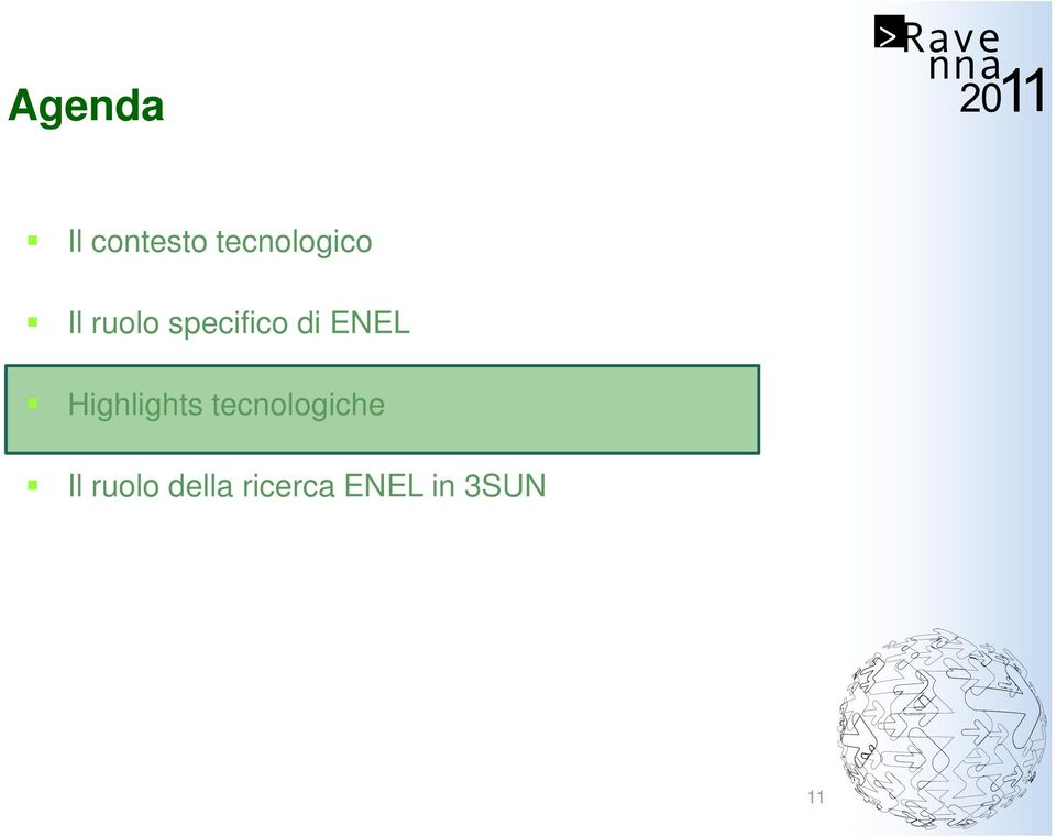 specifico di ENEL Highlights