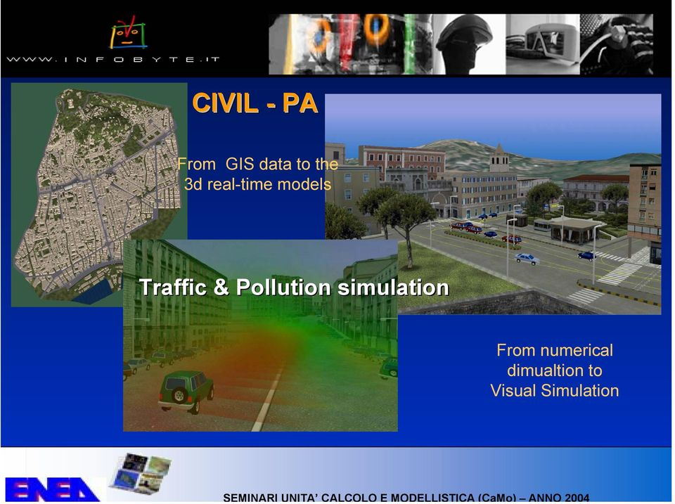 Pollution simulation From