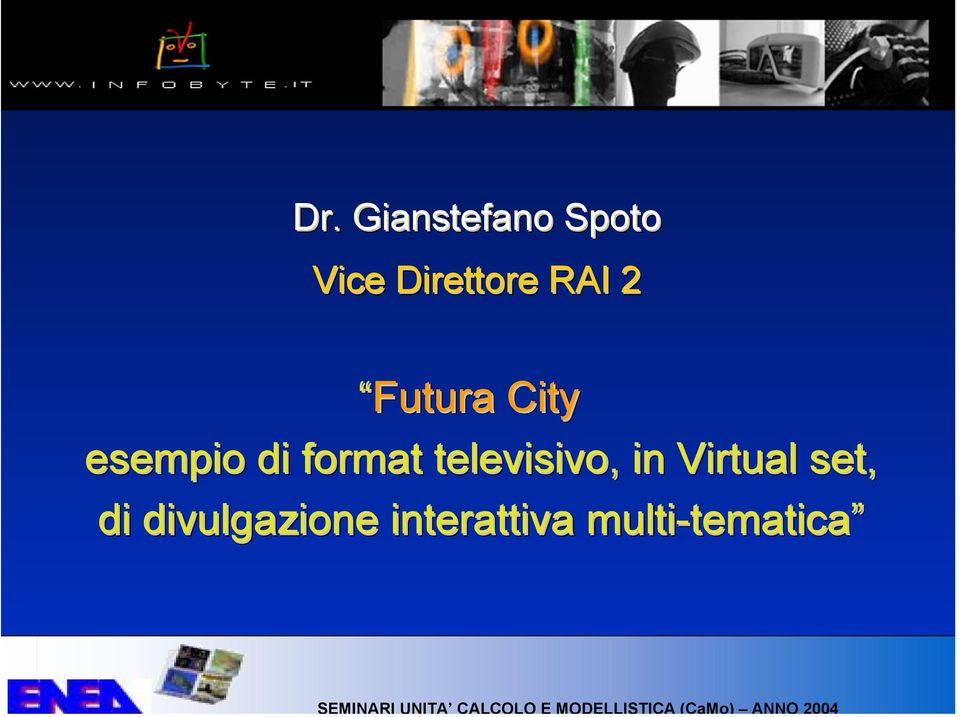 televisivo, in Virtual set, di