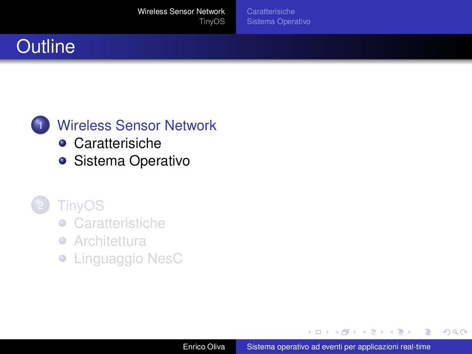 Operativo 1 Wireless Sensor