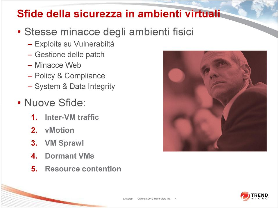 Web Policy & Compliance System & Data Integrity Nuove Sfide: 1.