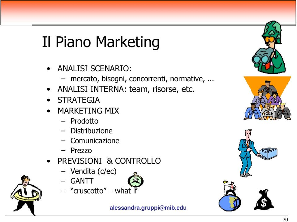 STRATEGIA MARKETING MIX Prodotto Distribuzione Comunicazione
