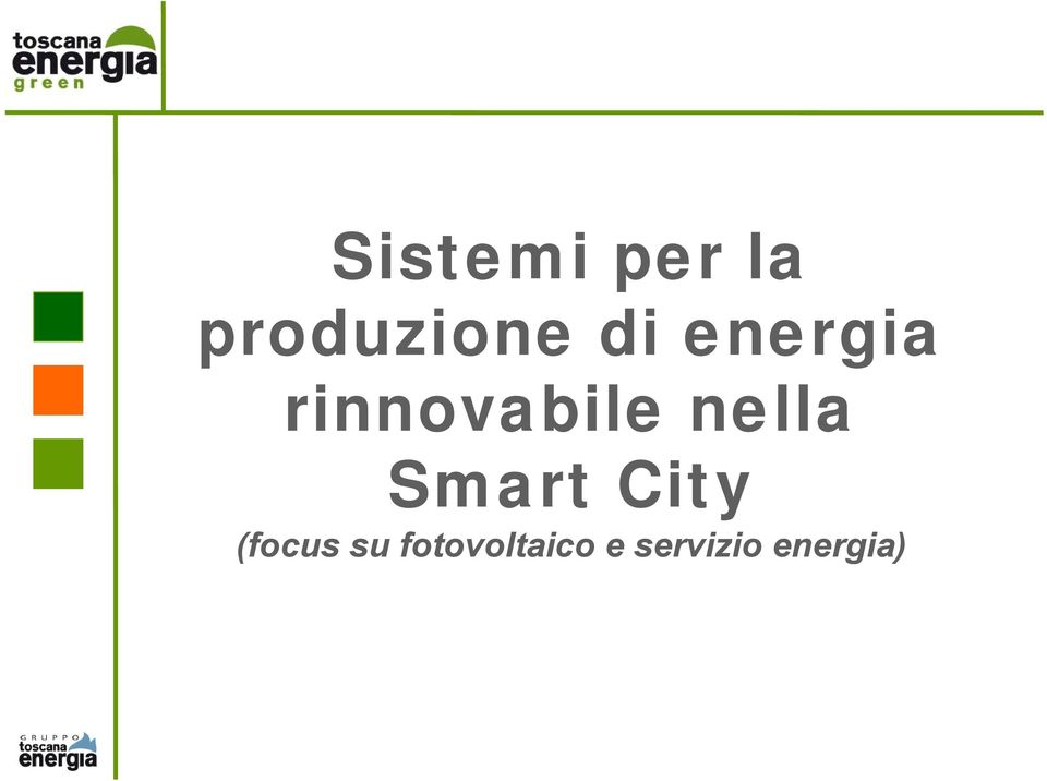 nella Smart City (focus su