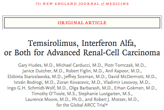 Phase III Trial of Temsirolimus and