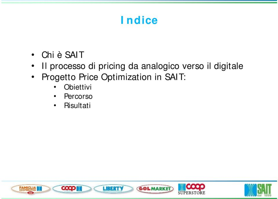 digitale Progetto Price