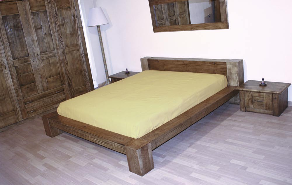 CODICE LE-2204 letto a 2 piazze in bambù -BAMBOO DOUBLE BED Misure 1960X2290 H 650 CODICE CO_2110