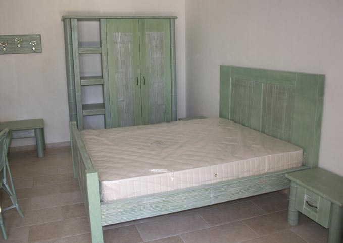CODICE LE-2214 letto a 2 piazze in bambù -BAMBOO DOUBLE BED Misure 1760X2080 H 1300/700 CODICE
