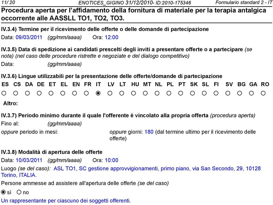 6 Formulario standard 2 - IT IV.3.