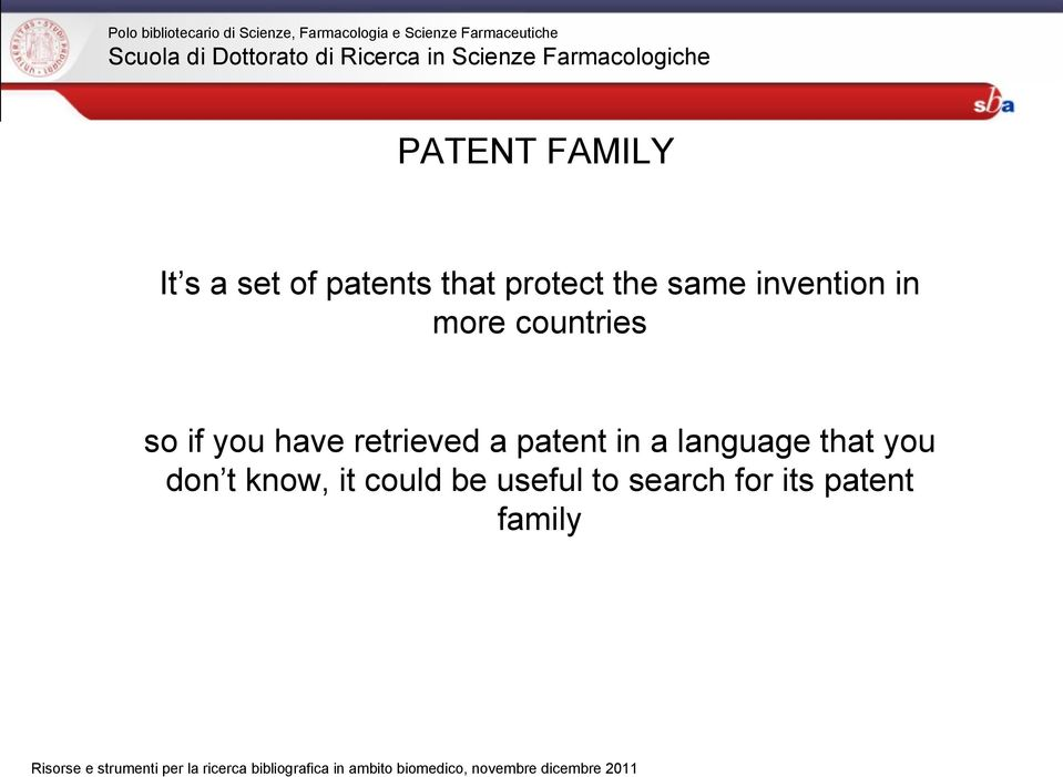 retrieved a patent in a language that you don t