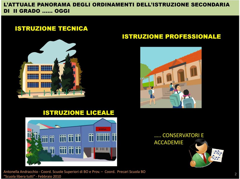 ISTRUZIONE LICEALE.