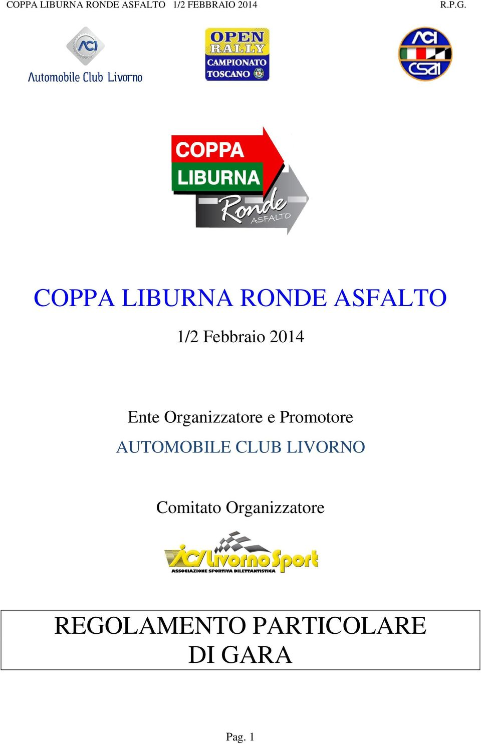 AUTOMOBILE CLUB LIVORNO Comitato