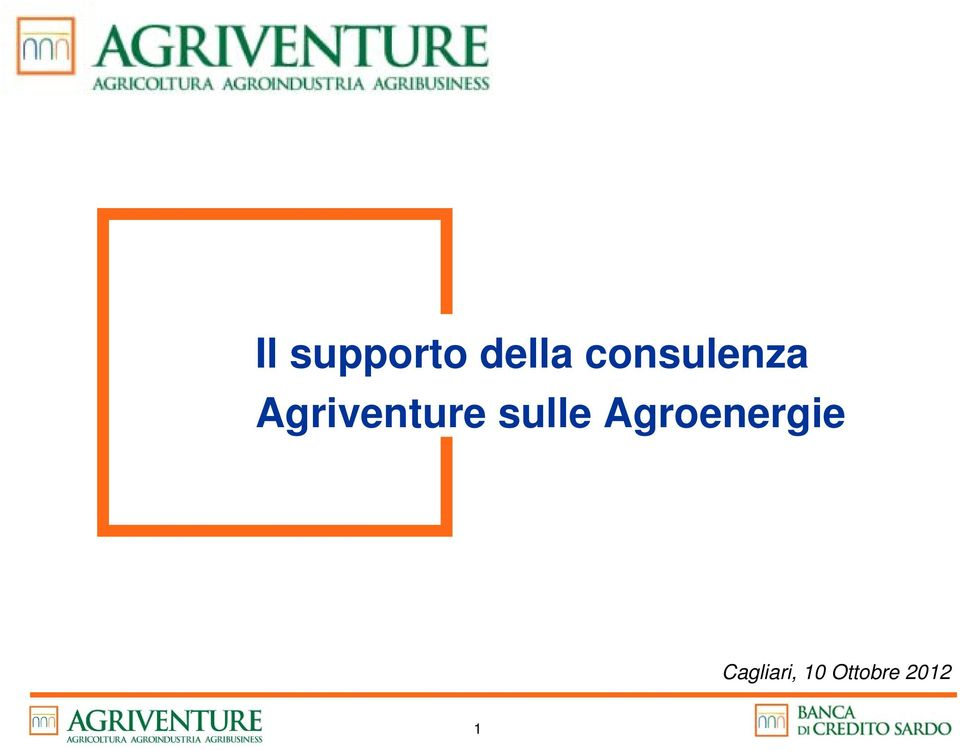 Agriventure sulle