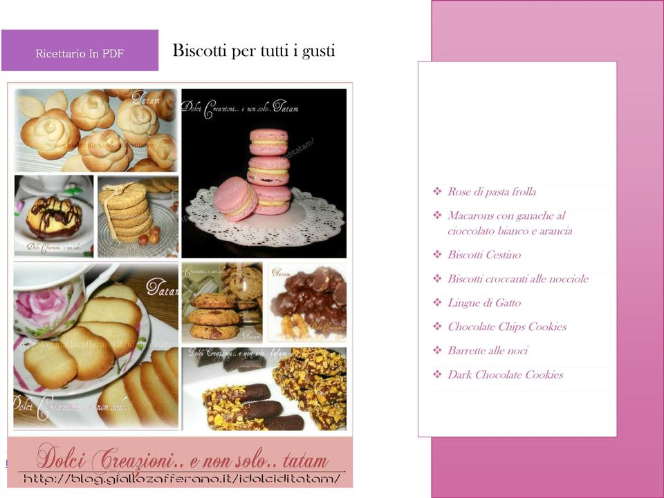 nocciole Lingue di Gatto Chocolate Chips Cookies Barrette alle noci Dark Chocolate