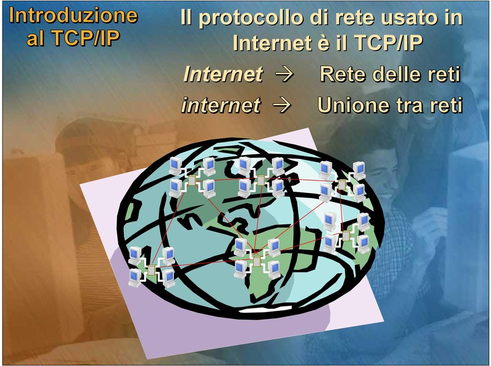 Internet è il TCP/IP Internet