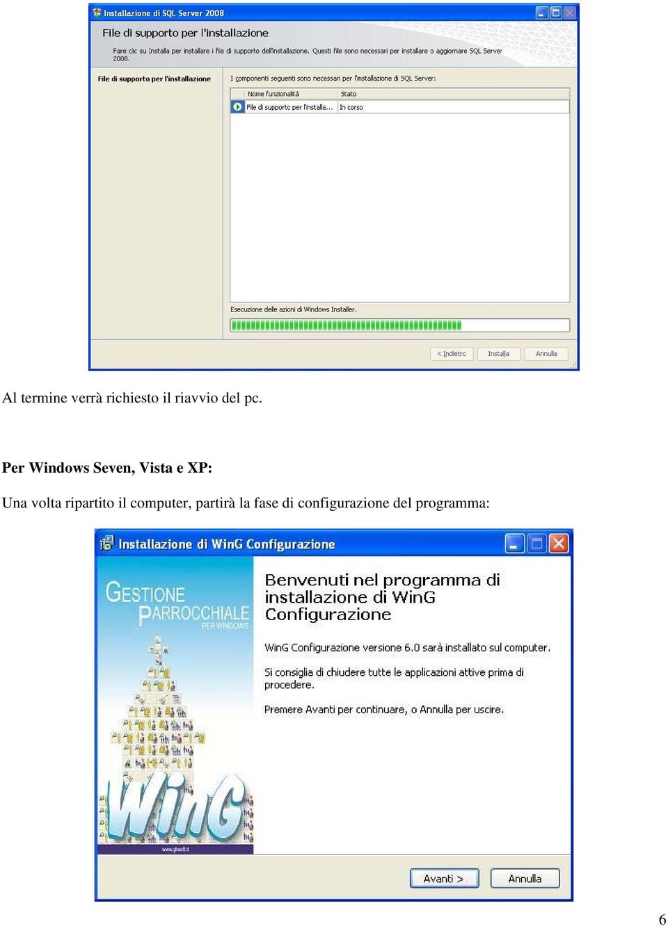 Per Windows Seven, Vista e XP: Una