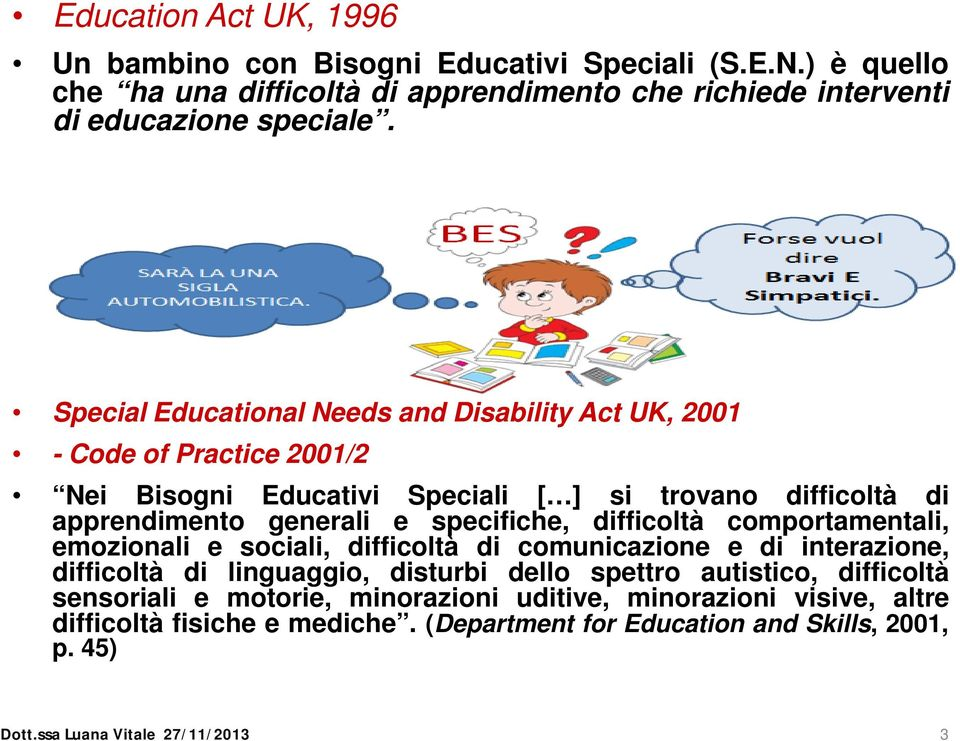 special educational needs 2 essay