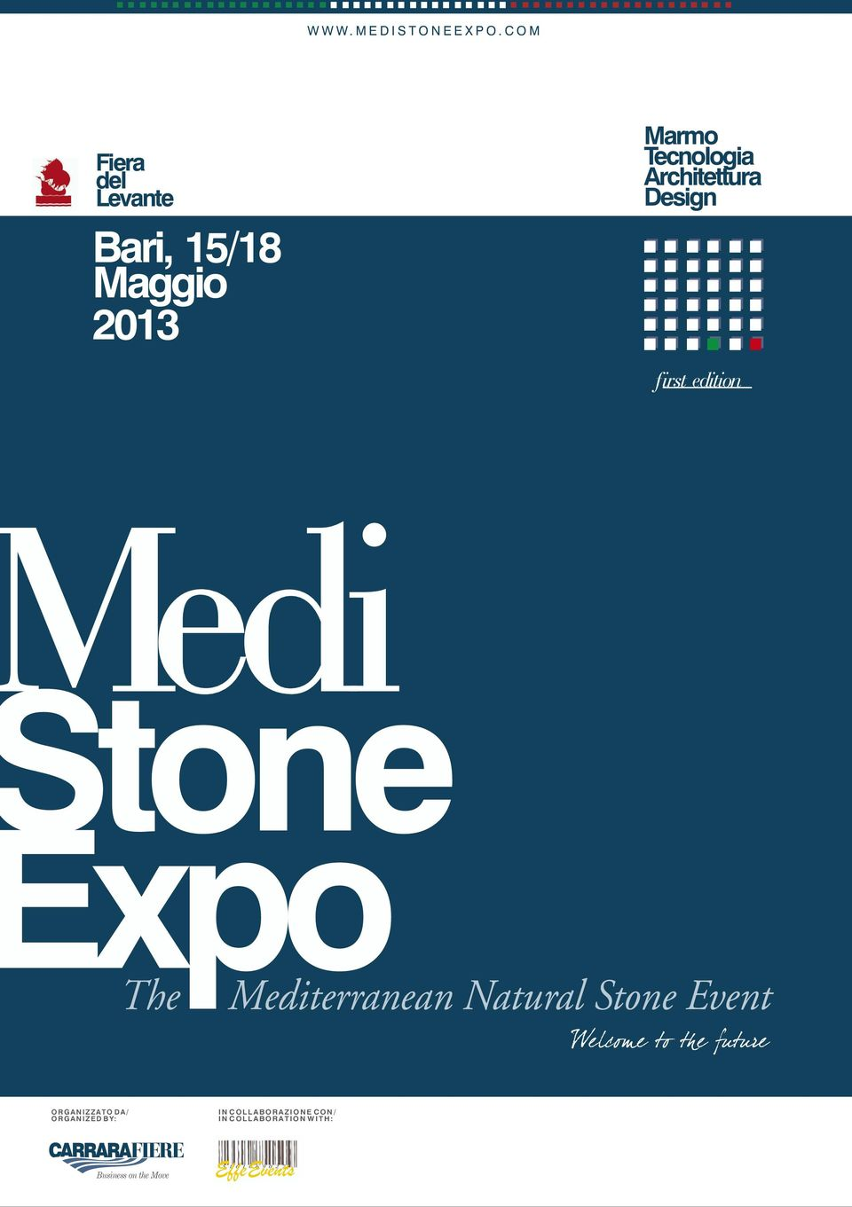Design first edition edi tone xpo The Mediterranean Natural Stone Event