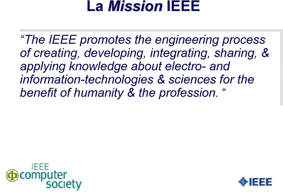 applying knowledge about electro- and