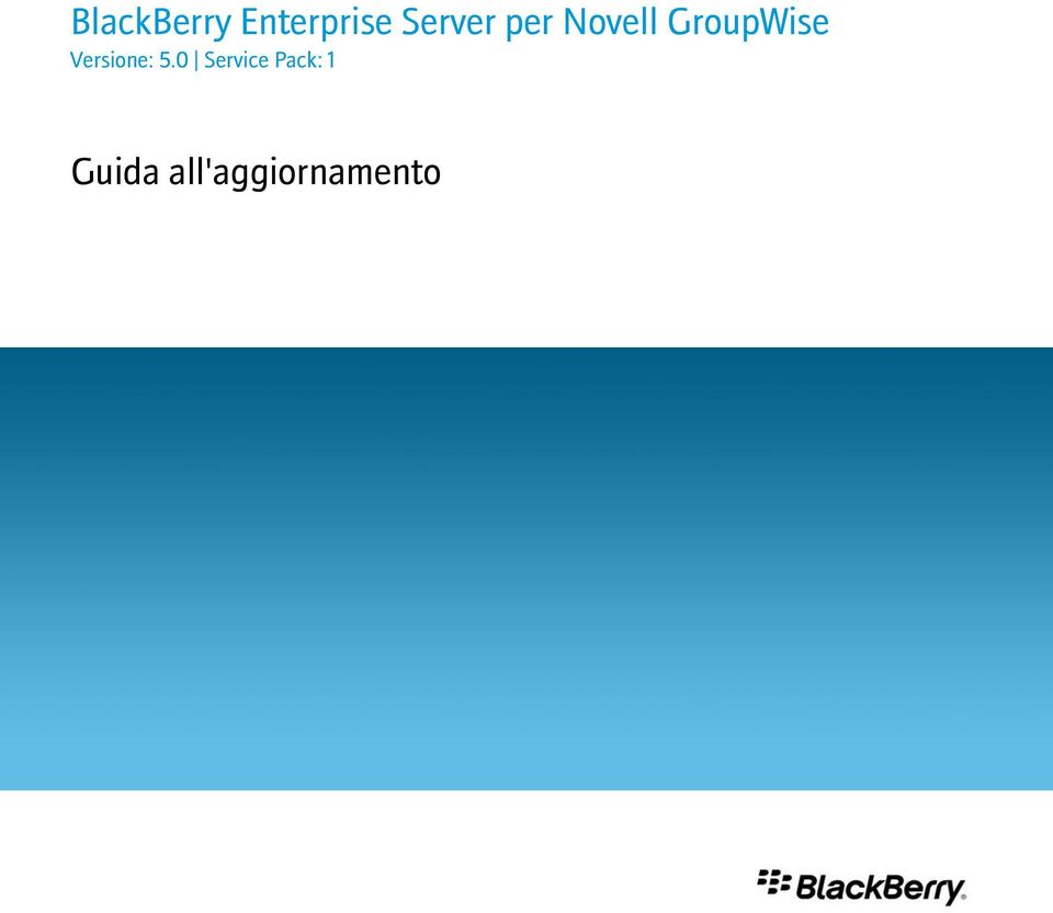 GroupWise Versione: 5.