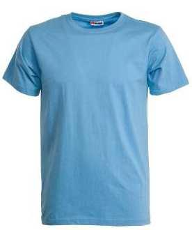T-SHIRT COLLO GIROCOLLO MANICA CORTA, COLLETTO IN COSTINA MISTO SPANDEX DA 2.