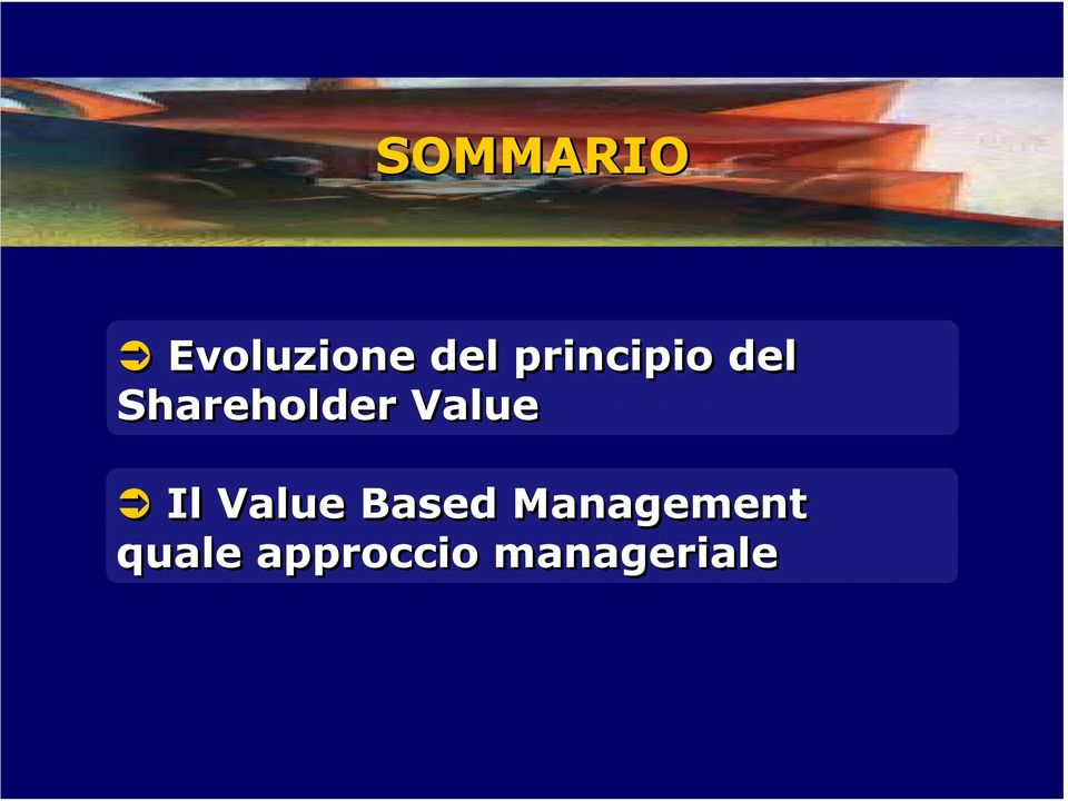Value Il Value Based