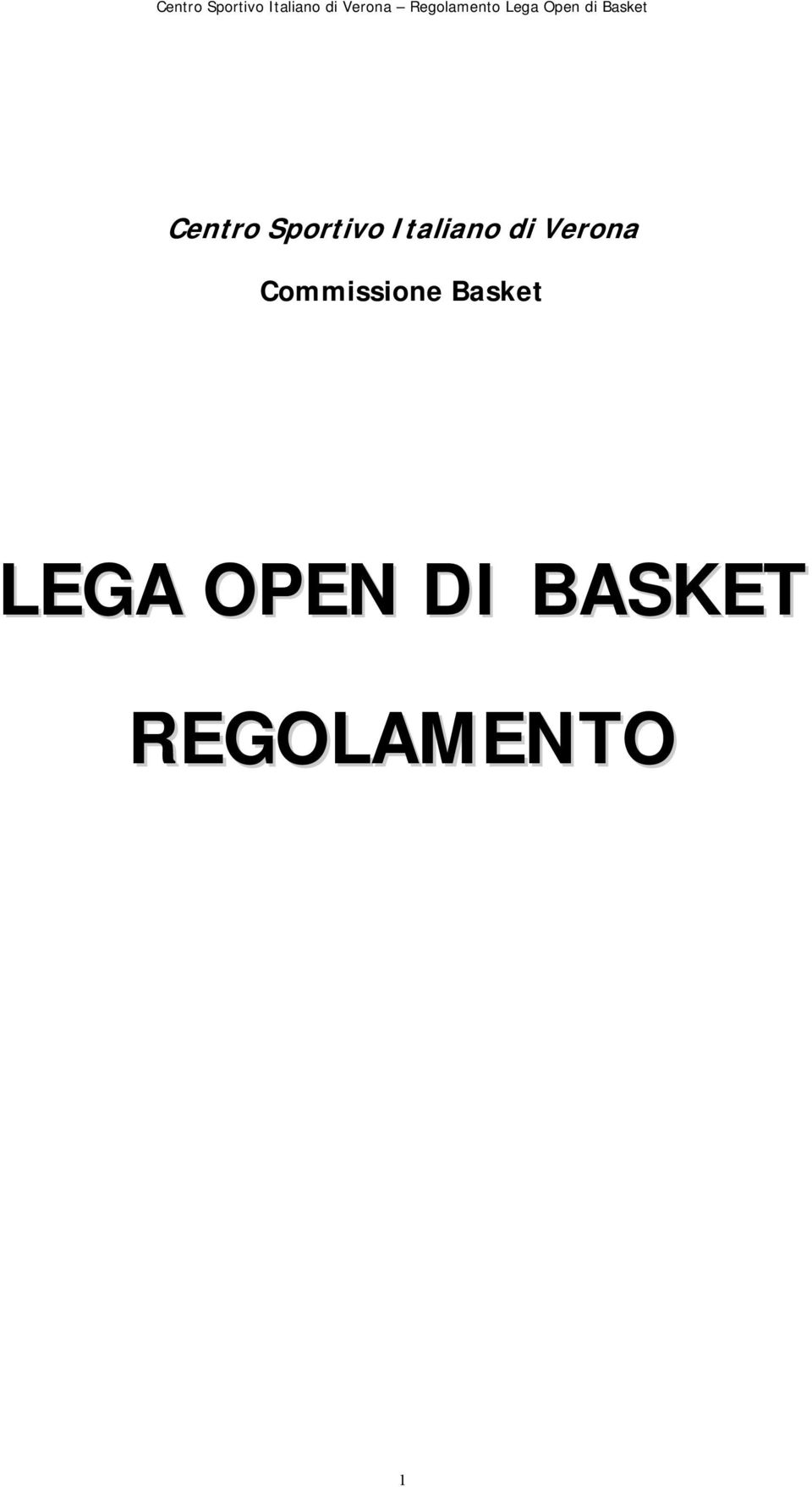 Commissione Basket