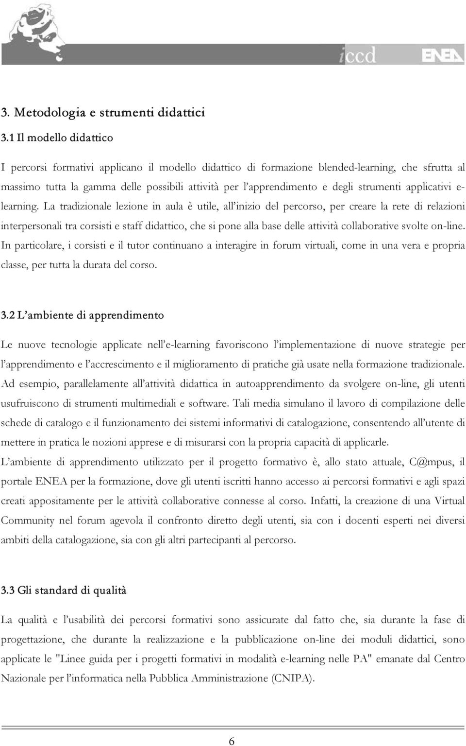 strumenti applicativi e- learning.