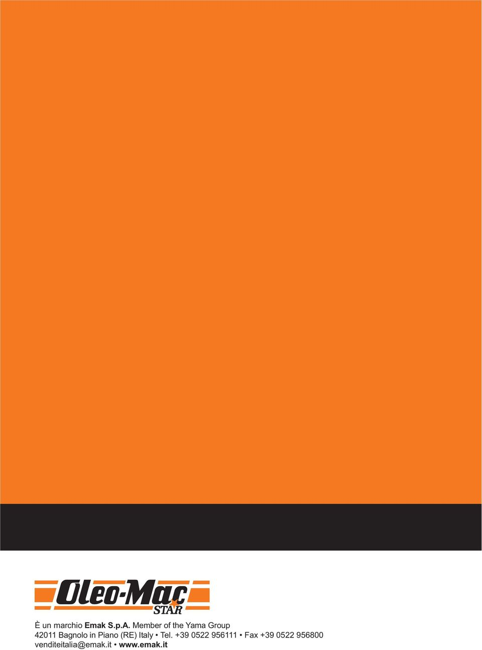 in Piano (RE) Italy Tel.