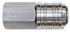 UNIVERSAL AUTOMATIC QUICK COUPLINGS FOR 4 TYPES OF PLUGS CEE